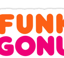 Funkin' Gonuts Sticker