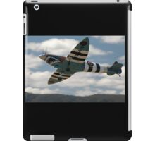 Sharkmouth Spitfire @ Festival Of Flight 2008 iPad Case/Skin