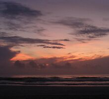 sunrise crescent beach by wanda blake