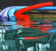 Poolscape by Freda Surgenor
