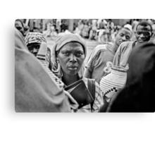 'The transaction' Northern Rwanda Canvas Print