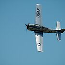 North American T28 Trojan, Evans Head Fly-In by muz2142