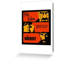 The Sheriff Greeting Card