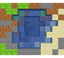 Pixel Mining Play Area 4 Photographic Print
