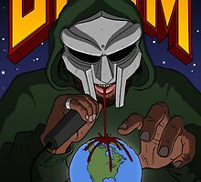 "MF DOOM ""THE ILLEST VILLIAN""  by summerslamec"