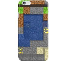 Pixel Mining Play Area 5 iPhone Case/Skin