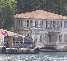 Old Turkish House by Anita Donohoe