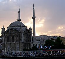 Mosque in the Sunset by Anita Donohoe