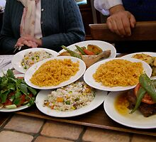 Turkish Lunch at the Lale Restaurant by Anita Donohoe