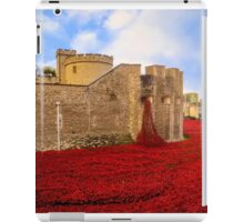 Poppies At Tower Of London iPad Case/Skin