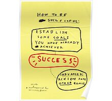 HOW TO BE SUCCESSFUL Poster