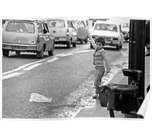 Collector, On the Way to M.Cartier Bresson Paris 1975 20 (b&n)(t) by Olao-Olavia par Okaio Création Poster