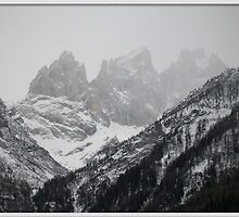 Winter Time in the Dolomites by Valli  aka Frankiesgirl