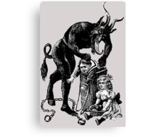 Christmas Krampus #6 Canvas Print