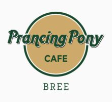 Prancing Pony Café (green / yellow / light) Kids Clothes