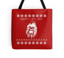 Happy Life Day Shirt / Sweater / Coffee Mug / Pillow - Star Wars Holiday Special - Christmas Sweater Design Tote Bag