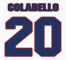 National baseball player Chris Colabello jersey 20 by imsport