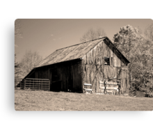 Rusty Old Barn II Canvas Print