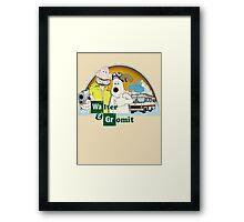Don't forget the methylamine Gromit! Framed Print