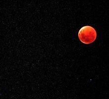 Total Lunar Eclipse 16 July 2000 by Ern Mainka