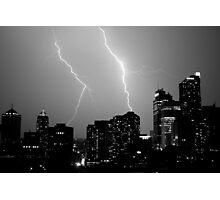 Urban Storm Photographic Print