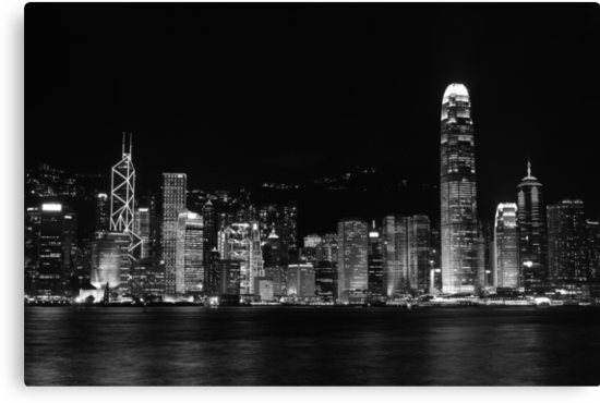 Hong Kong Skyline by Paul Tait