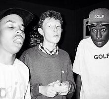 King Krule, Tyler the Creator & Earl Sweatshirt by svpermassive