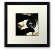 It is a small world Framed Print