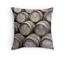 Casks Throw Pillow