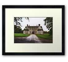Leith Hall Facade - (Huntly, Aberdeenshire, Scotland) Framed Print