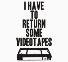 Videotapes Kids Clothes