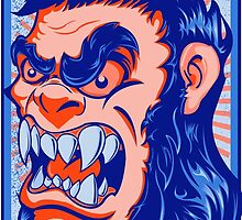 The Bigfoot Gorilla by joebarondesign
