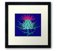 Scottish Thistle Framed Print