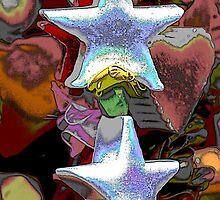 Christmas decorative star by spetenfia