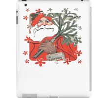 Christmas Pudding (Kerstpudding) Holiday Greeting iPad Case/Skin