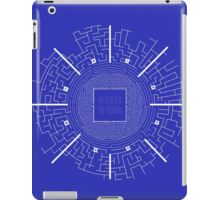 The Maze Runner Blueprints iPad Case/Skin