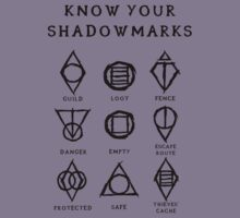 Know Your Shadowmarks (Dark) Kids Clothes