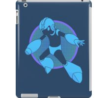 Retro Blue Hero iPad Case/Skin
