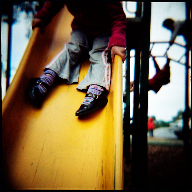 Legs On A Slide by Cameron Stephen
