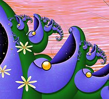 Inner Child - Happiness is Being a Purple Fish by lacitrouille