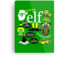Buddy the Elf Quotes Metal Print