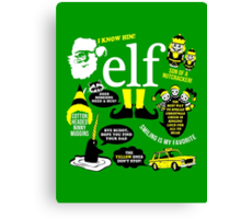 Buddy the Elf Quotes Canvas Print
