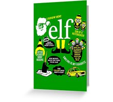 Buddy the Elf Quotes Greeting Card