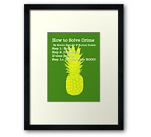Learn the Psych Process Framed Print