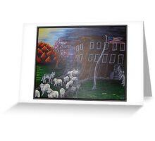 Like Sheep Greeting Card