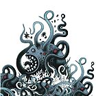 Octoworm (blue version) by Exit  Man