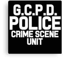 Gotham City Police Department - Batman Canvas Print