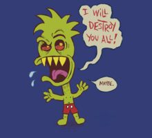 I will destroy you all! by Malcolm Kirk