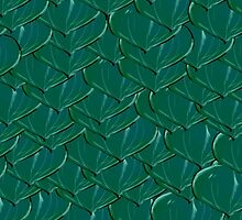 Experimental Dragon Scale Pattern by CiipherZer0