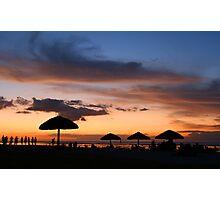 Pleasure beach Photographic Print